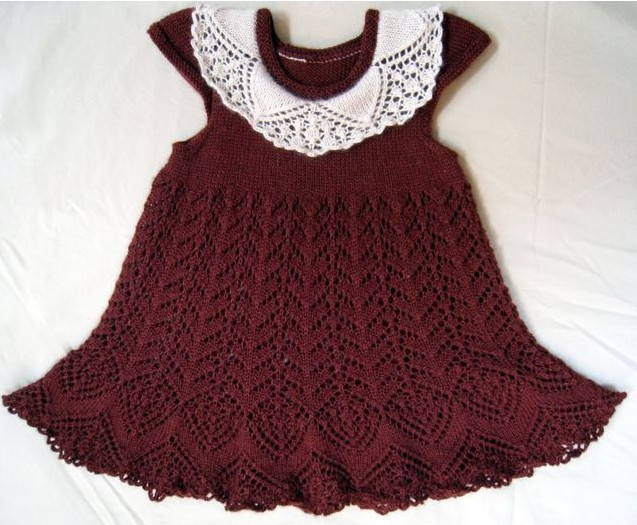Ажурное платье шоколадного цвета с белым воротничком  спицами для девочки  /4683827_20120411_181730 (637x525, 93Kb)