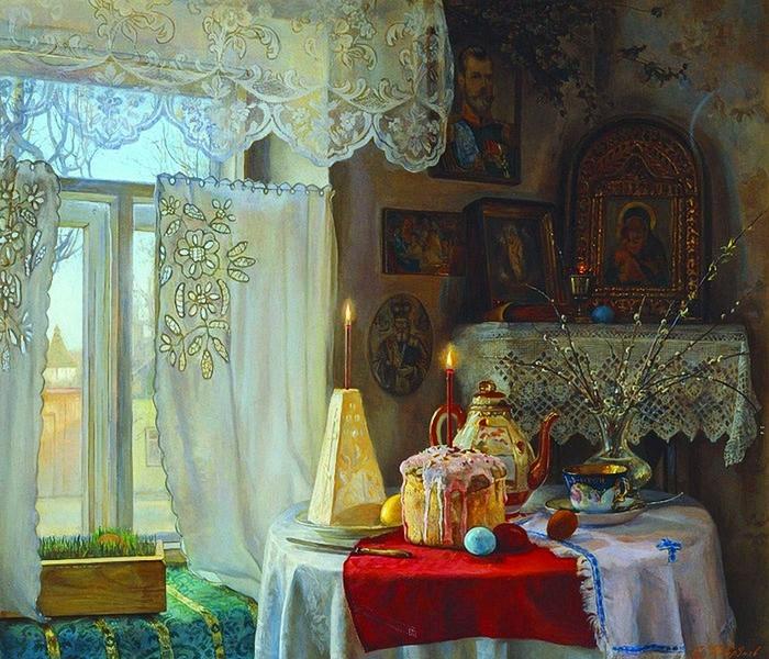 Илья Каверзнев Светлая Пасха (700x600, 360Kb)