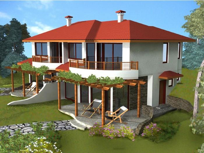 Проекты домов на недорого своими руками 874