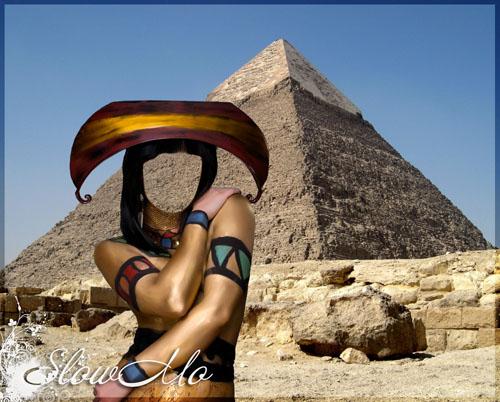SlowMo, Pphotoshop, Templates for photoshop, Psd, Psd-исходники, Наряды, Костюмы, Шаблоны, Для фотошопа, Для фотомонтажа, Фотошаблоны,    Фотомонтаж, Девушка, Пирамида, Египетская, Egyptian, Girl, Piramid, Возле пирамиды, Египетская девушка, Egypt, Bodyart, Бодиарт/1334175968_Egyptian_girl_Cover (500x402, 86Kb)