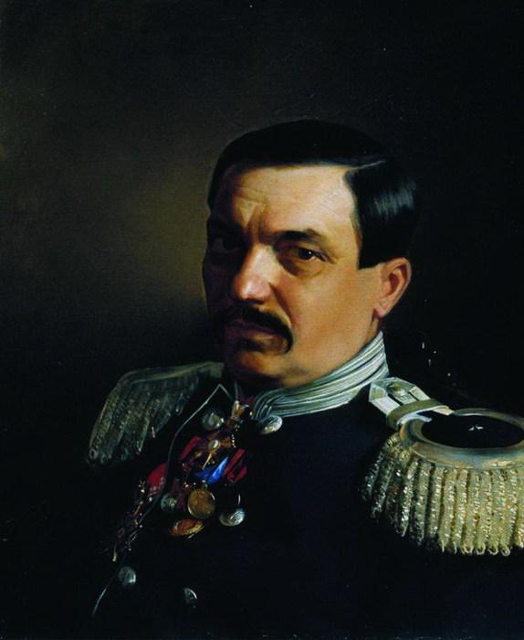 Портрет врача Константина Францевича Яницкого. 1865 (574x700, 65Kb)