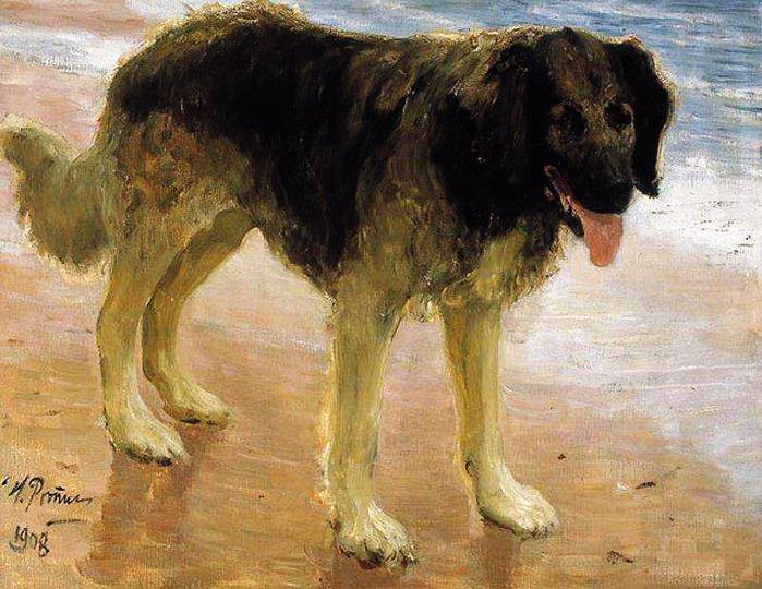 Лучший друг человека (Пес). 1908 (700x540, 151Kb)