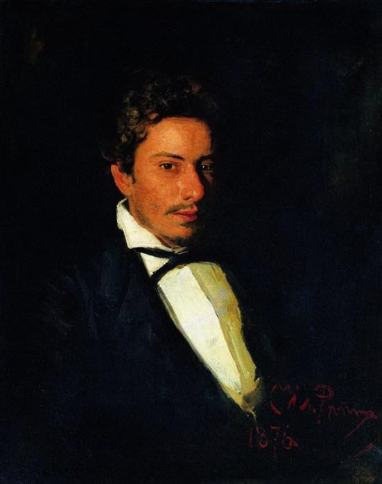 Портрет В.Е.Репина, музыканта, брата художника. 1876 (551x700, 58Kb)
