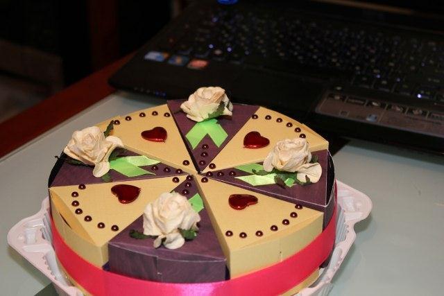 Оригинальный торт на день рождения своими руками фото