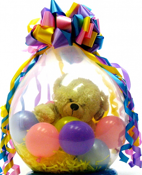Подарок в шарике спб 981