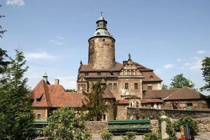 Замок Чоха (Czocha). Польша, Силезия 16697