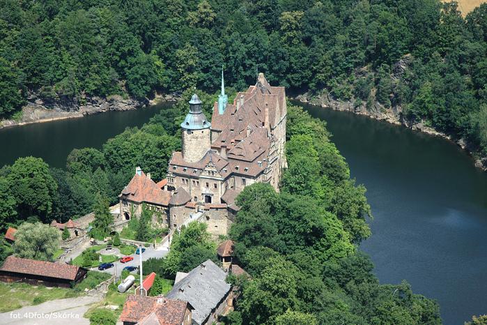 Замок Чоха (Czocha). Польша, Силезия 79846