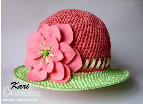Шляпка вязаная ажурная крючком для девочек/4683827_20120412_222635 (577x418, 58Kb)
