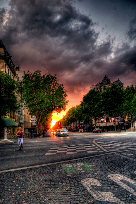 Лучшие фото Парижа в формате HDR 5 (465x700, 455Kb)