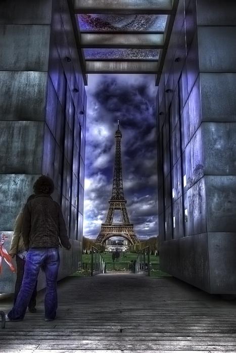 Лучшие фото Парижа в формате HDR 9 (467x700, 304Kb)