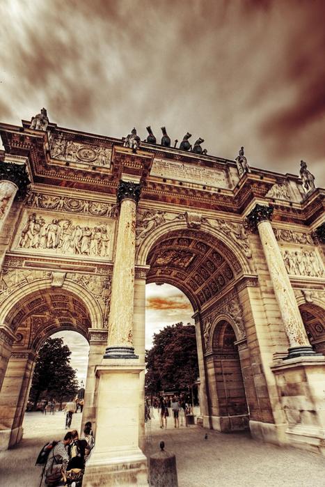 Лучшие фото Парижа в формате HDR 21 (467x700, 446Kb)