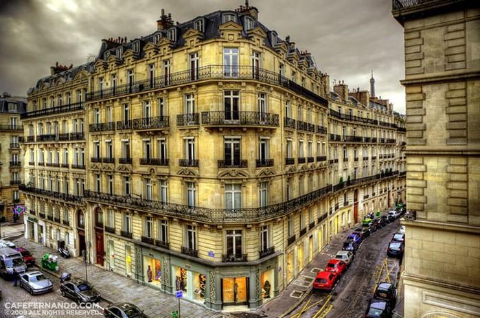 Лучшие фото Парижа в формате HDR 49 (700x463, 131Kb)