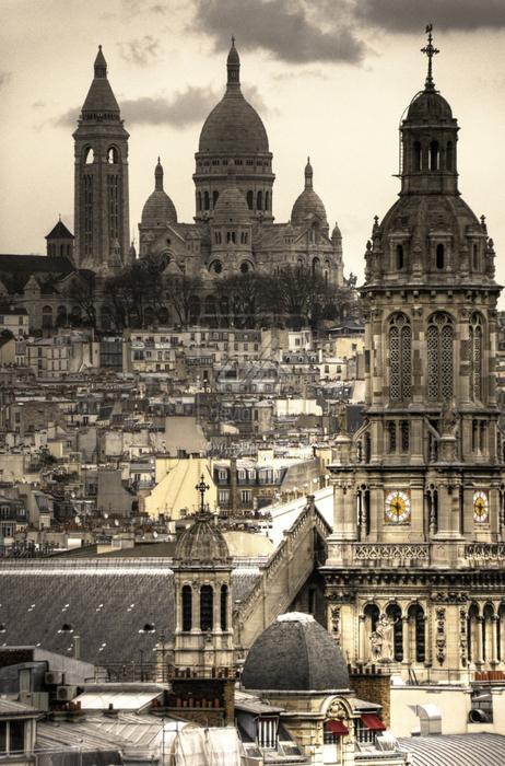 Лучшие фото Парижа в формате HDR 59 (462x700, 404Kb)