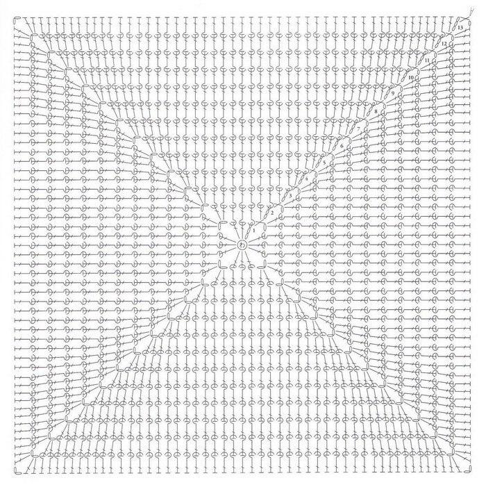 Накидки на табурет крючком схемы вязания 45