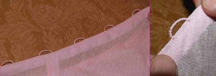 Как сделать петельки для пуговиц иглой - МБДОУ детский сад 24