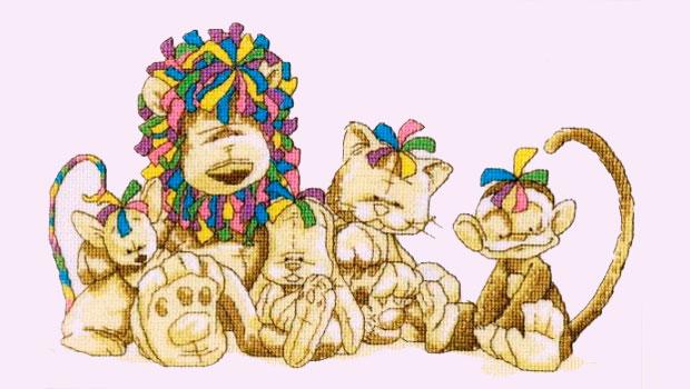 Детская схема для вышивки