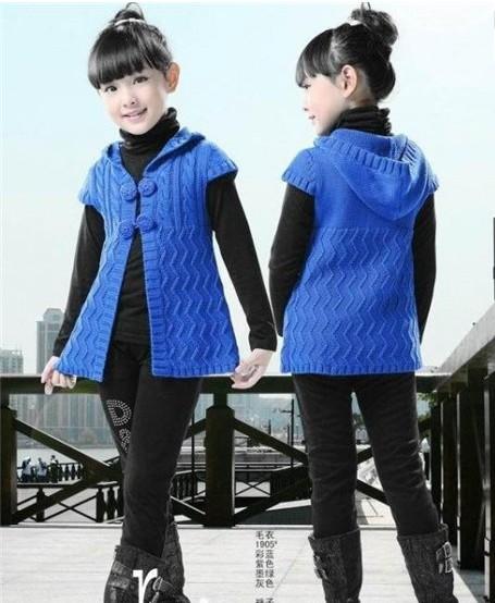 Жилет-жакет с капюшоном вязаный спицами для девочки-подростка/4683827_20120413_212131 (455x554, 67Kb)