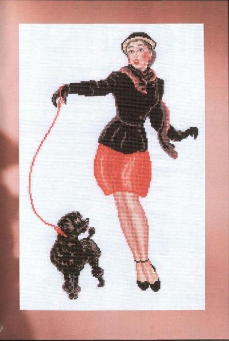 Дама с собачкой. схемы для