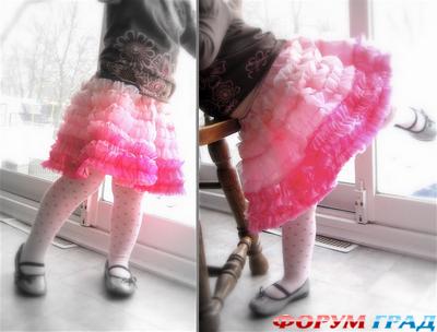 раскрасить в стиле батик юбку солнцеклеш: