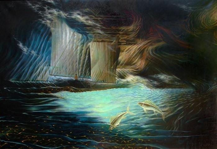 Сюрреалистическая иконопись Олега Королёва 3 (700x480, 91Kb)