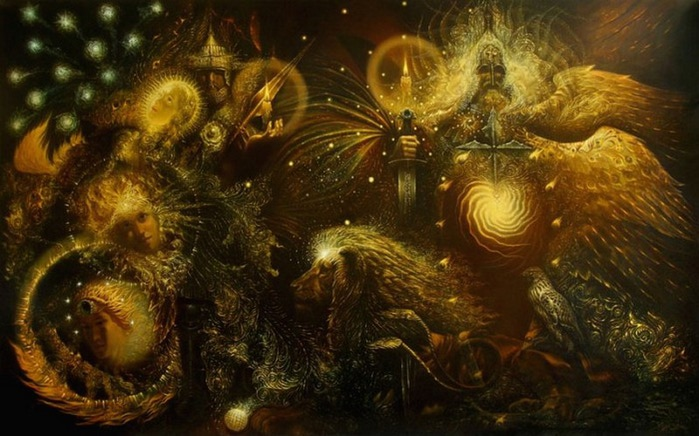 Сюрреалистическая иконопись Олега Королёва 24 (700x436, 101Kb)