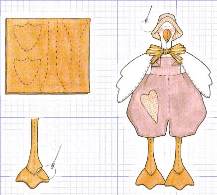 Кукла Тильды Схема сборки