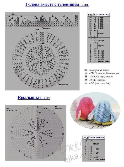 Еще интересные схемы вязания