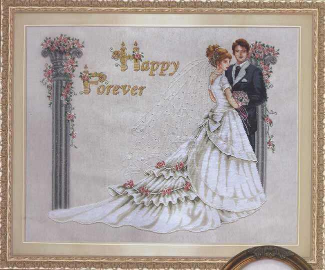 Схемы свадебных вышивок