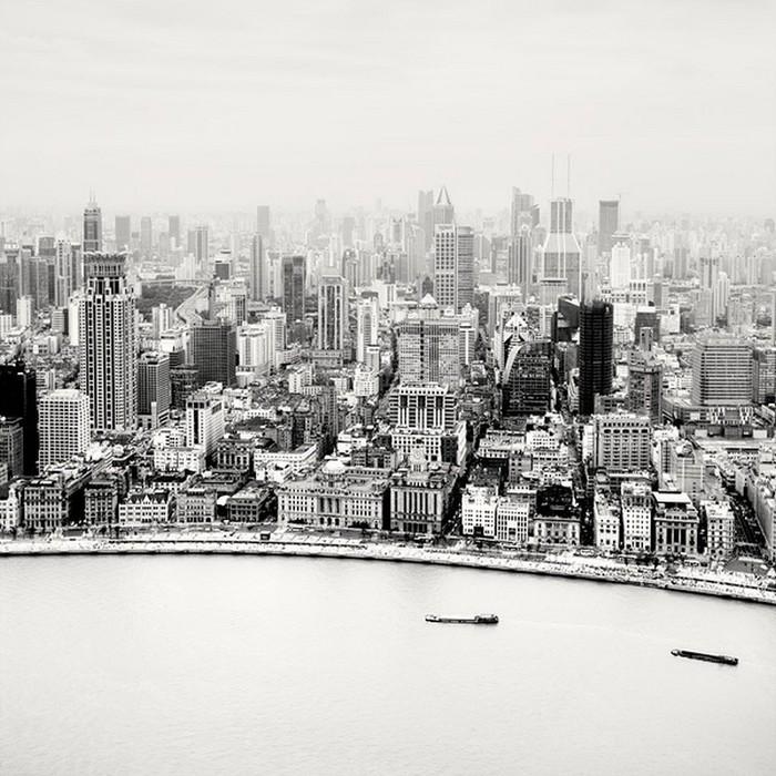 Красивые черно белые фото Шанхая от Martin Stavars 5 (700x700, 131Kb)