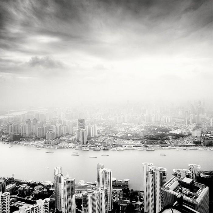 Красивые черно белые фото Шанхая от Martin Stavars 24 (700x700, 106Kb)