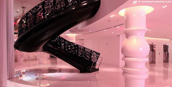 Удивительно красивый дизайн отеля Mondrian South Beach 9 (700x354, 57Kb)