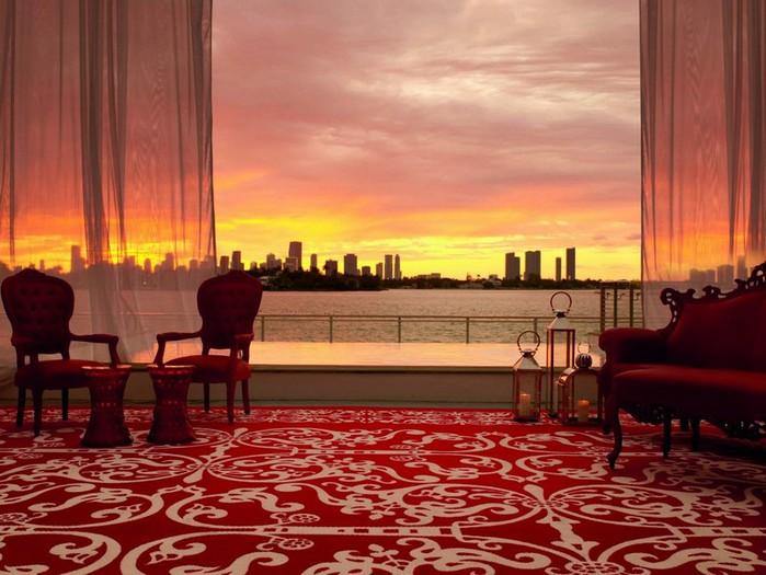 Удивительно красивый дизайн отеля Mondrian South Beach 15 (700x525, 98Kb)