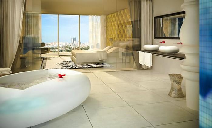 Удивительно красивый дизайн отеля Mondrian South Beach 21 (700x424, 56Kb)