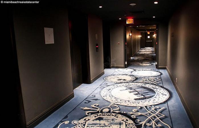 Удивительно красивый дизайн отеля Mondrian South Beach 24 (700x449, 65Kb)