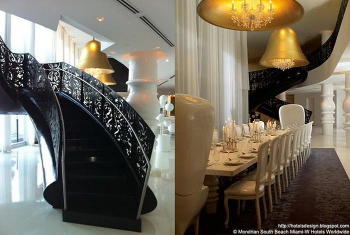 Удивительно красивый дизайн отеля Mondrian South Beach 31 (700x469, 84Kb)