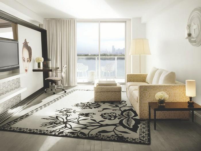Удивительно красивый дизайн отеля Mondrian South Beach 35 (700x525, 83Kb)