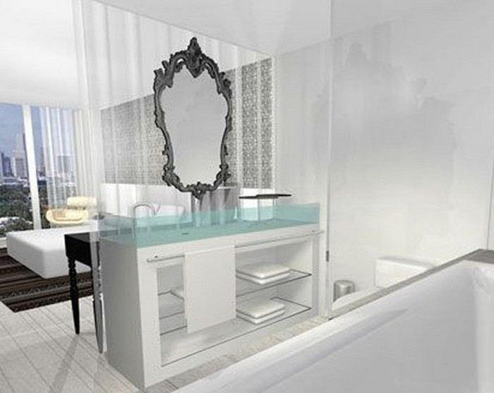 Удивительно красивый дизайн отеля Mondrian South Beach 39 (700x557, 58Kb)