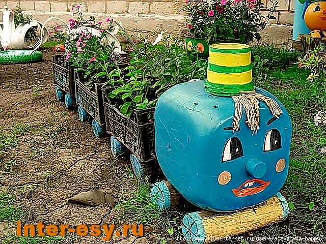 20 поделок для сада и огорода фото