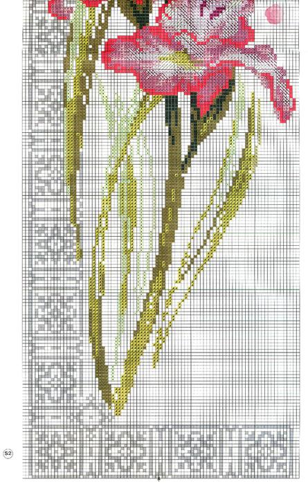 """... """"Часть 1. Часть 5 - цветы (Риолис) 1 Часть 6. вишитые веера. цветы (Риолис). салфетки вишитые. подушечка. цветы..."""