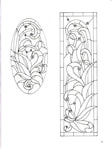 Превью Decorative Doorways Stained Glass - 33 (384x512, 50Kb)