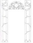 Превью Decorative Doorways Stained Glass - 41 (384x512, 33Kb)