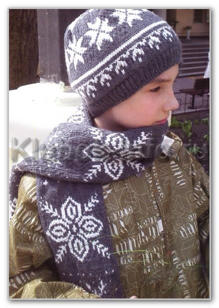 Детская шапочка сколько петель набирать на детскую 81