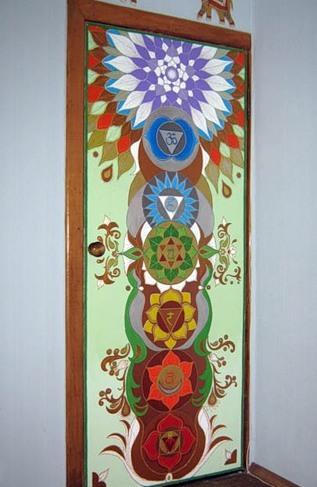 Роспись дверей своими руками мастер класс - Master class