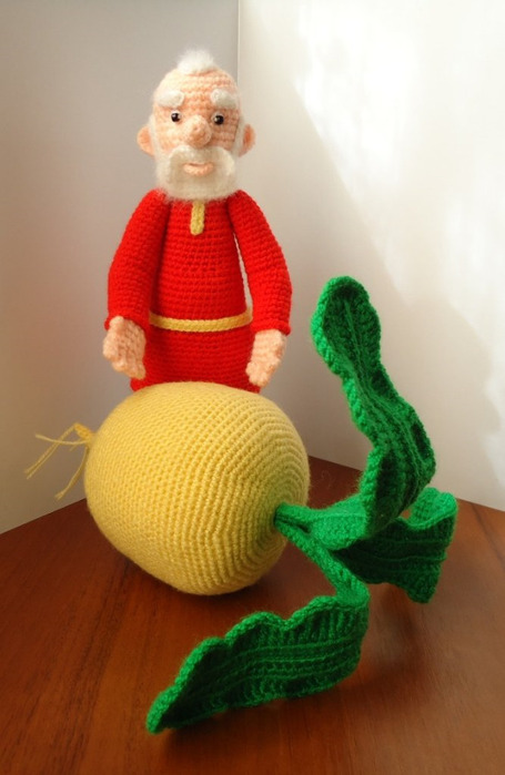 Вязание крючком игрушек из сказок