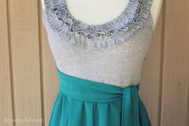 Как сделать платье для себя своими руками если мне 9 лет