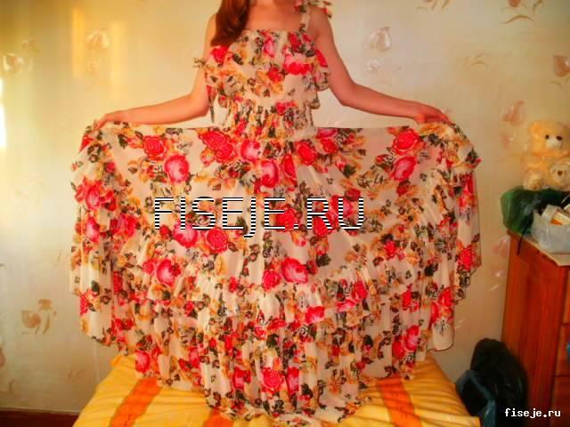 осеннее платье для худых