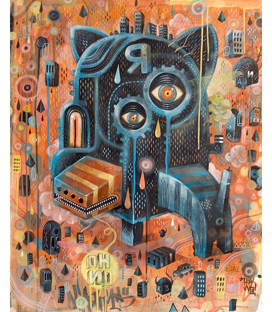 Картины сюрреалистов современности 8 (540x619, 159Kb)
