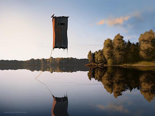 Картины сюрреалистов современности 47 (540x406, 41Kb)