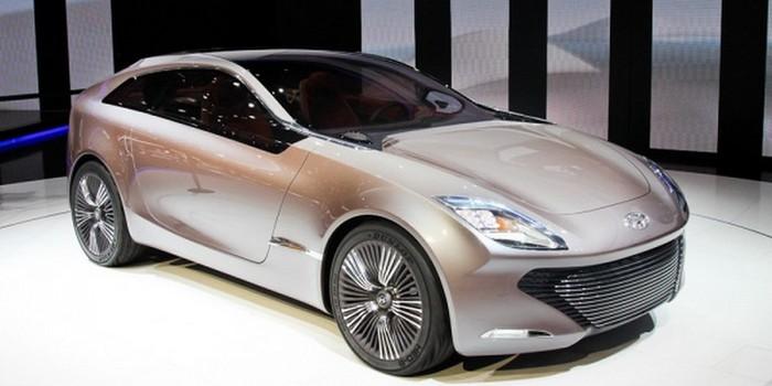Футуристичный концепт кар I-ioniq от Hyundai 1 (700x350, 53Kb)