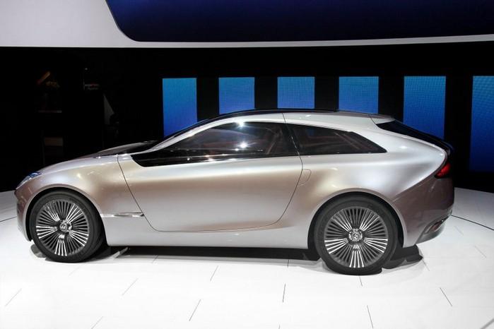 Футуристичный концепт кар I-ioniq от Hyundai 3 (700x466, 53Kb)